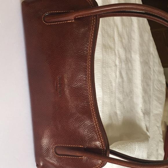 619980eb101c Barberini s Firenze Handbags - Barberini s Firenze brown leather hand bag